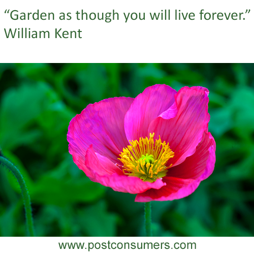 Garden Quotes   Gardening Quote Garden And Live Postconsumers