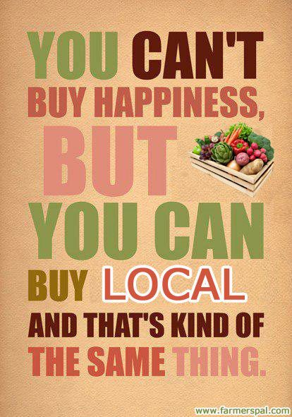 Shop Local Inspiration Local Is Happiness Postconsumers