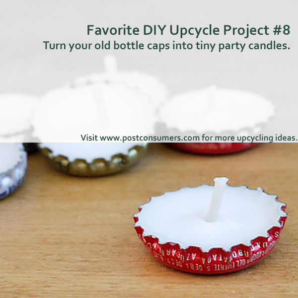 Favorite Upcycling Ideas Bottle Caps Into Tea Lights Postconsumers