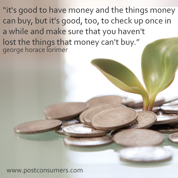 Financial Tips Quotes And Advice The Things Money Cant Buy
