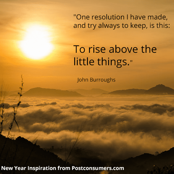 New Year S Inspiration Quotes Rise Above The Little Things