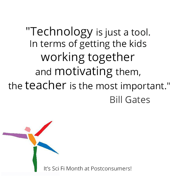 Bill Gates On Education Quotes: Favorite Sci-Fi Quotes: Bill Gates