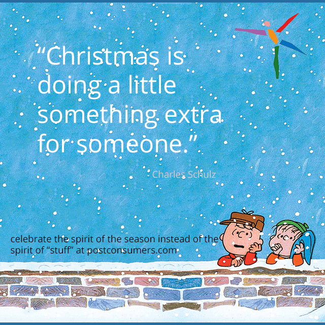 favorite christmas quotes the peanuts on doing a little something extra - Peanuts Christmas Quotes
