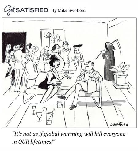Postconsumers Global Warming Cartoon