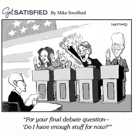 Postconsumers The Democratic Debate